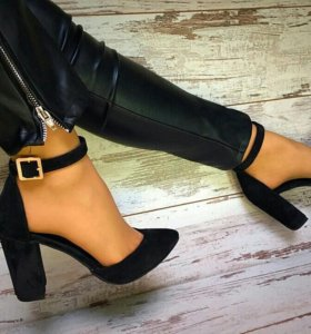 Туфли из замша