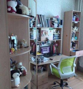 Шкаф+стол+полки(бонусом)