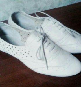 туфли женские кожа 37
