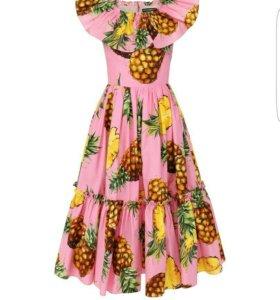 Платье шифоновое d@g, новое