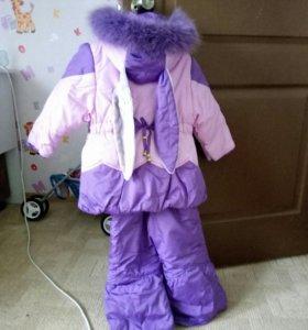 Зимний костюм. 98 размер