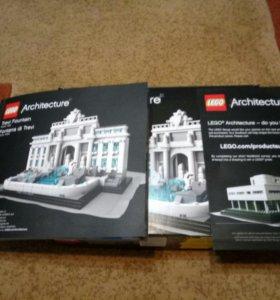 Lego.Trevi Fountan из коллекции Architecture.Новый