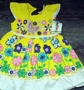 Новое платье на девочку 2-3 года