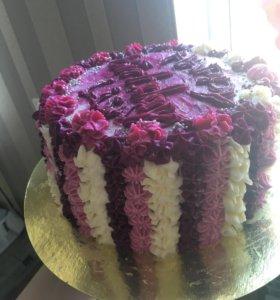 Торты, кексы, капкейки или любой желаемый десерт
