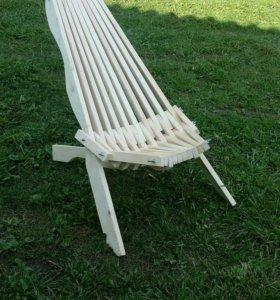 Кресло для отдыха расскладное,ручной работы.