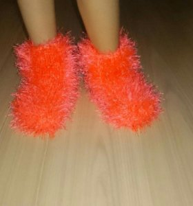 Следочки,носочки теплые