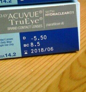 Однодневные контактные линзы ACUVUE Tru Eye
