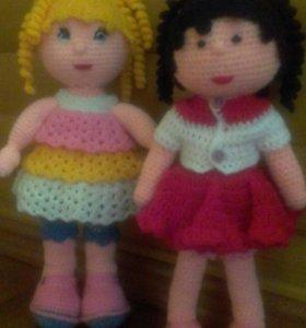Куклы Alexa и Аndrea ручной работы
