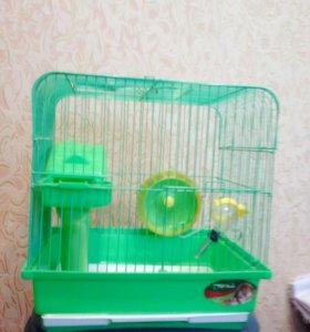 Клетка для грызунов (Triol)
