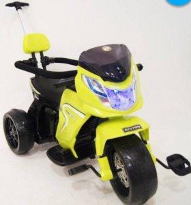 Электромотоцикл детский новый