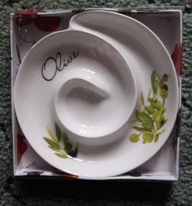 Тарелка для оливок
