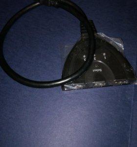 Переключатель разветвитель HDMI
