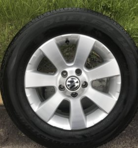 Литые диски с шинами Volkswagen Tiguan