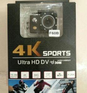 Action camera 4k sports