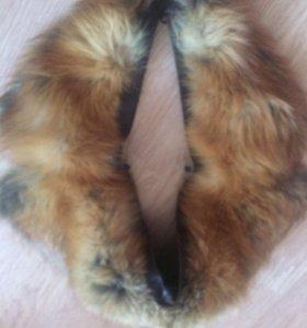 Продам воротник из меха лисы