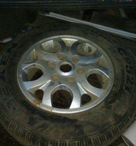Колесо с литым диском