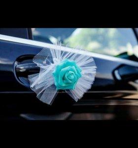 Аксесуар на ручки свадебного авто