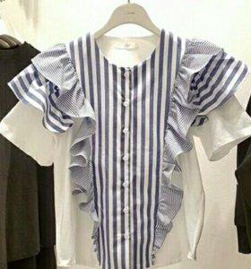 Женская рубашка новая 42-44