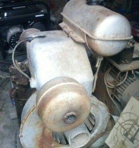 Бензиновый двигатель УМЗ-5А.