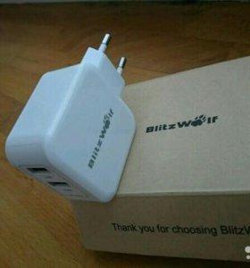 Blitzwolf зарядное устройство usb