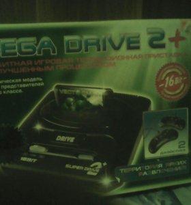 Приставка SEGA DRIVE 2+