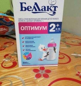 Молочная смесь Беллакт оптимум 2