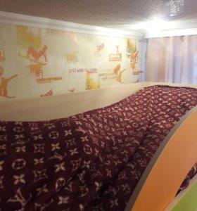 Стенка 3 в 1 ( кровать, вместительный шкаф, стол)
