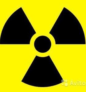 Дозиметр в аренду, замер уровня радиации