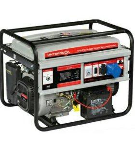 Генератор бензиновый ЭБ-6500