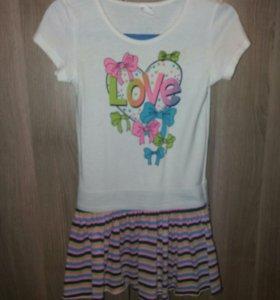 Платье р-р 110-122