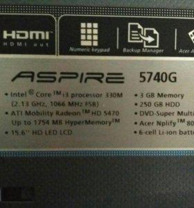 Acer Aspire 5740 g