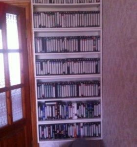 Видеокассеты и диски