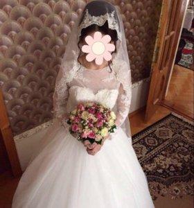 Шикарное свадебное платье!!!!! 👰🏼