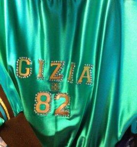 Блузка-бомбер Gizia 100% шелк