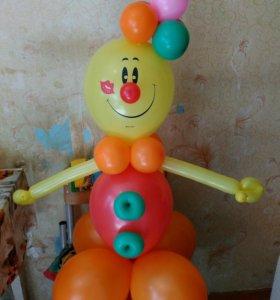Клоун Антошка.