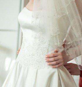 Свадебное платье, торг, 42-46 р.