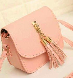Сумка новая розовая