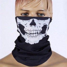 Шарф-маска череп