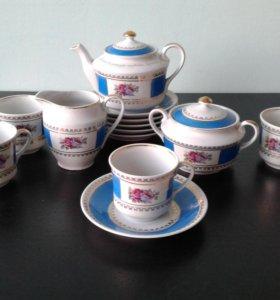Сервиз чайный фарфор