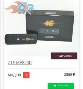 Модем 4G ZTE MF823