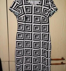 Платье, трикотаж разм.48-50