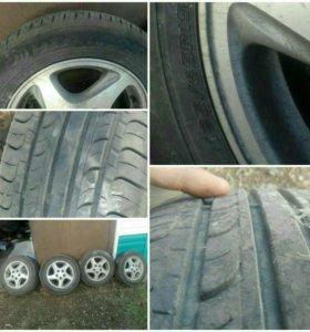 Комплект колес 4 литье японс и 4 шины 195/65 R15