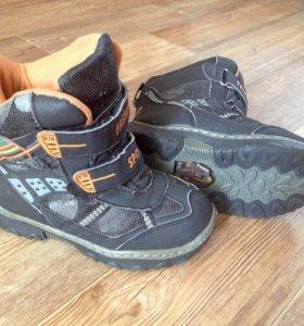 Зимние ботинки(30р)