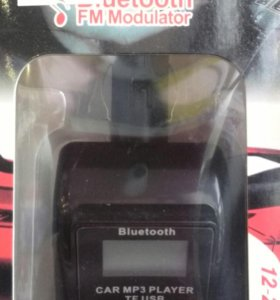 FM MODULATOR BLUETOOTH