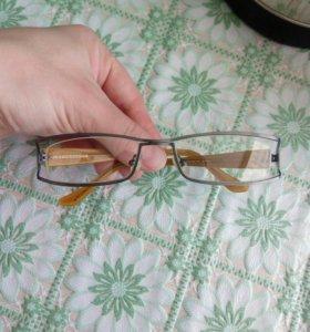 Очки с обычными линзами