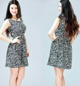 Шифоновое платье новое
