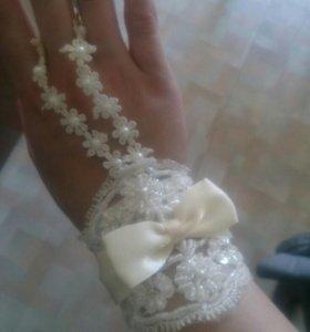 Продаются свадебные перчатки