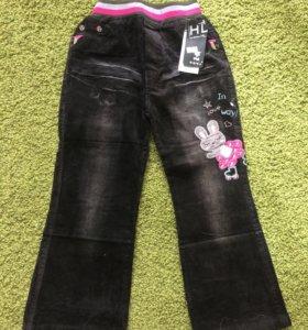 Новые вельветовые штаны
