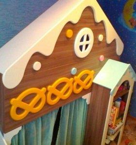 """Детская мебель """"пряничный домик"""""""