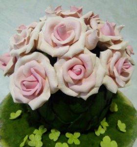 Кружка роз